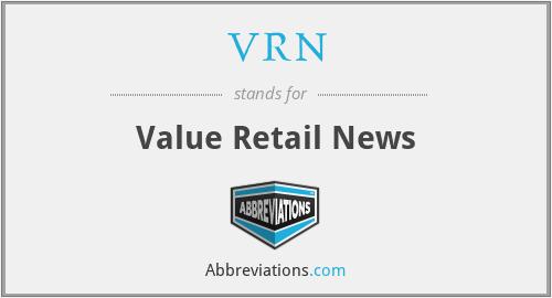 VRN - Value Retail News