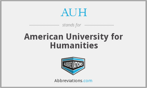 AUH - American University for Humanities
