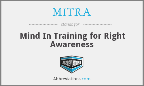 What does MITRA stand for?
