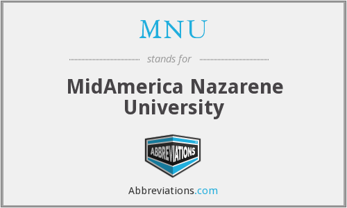 What does MNU stand for?