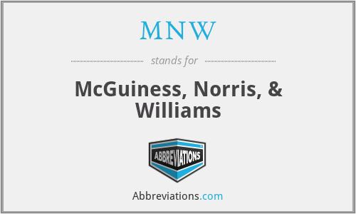 MNW - McGuiness, Norris, & Williams
