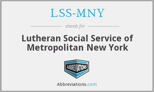 What does LSS-MNY stand for?