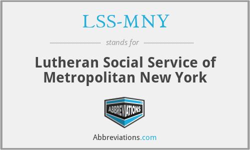 LSS-MNY - Lutheran Social Service of Metropolitan New York