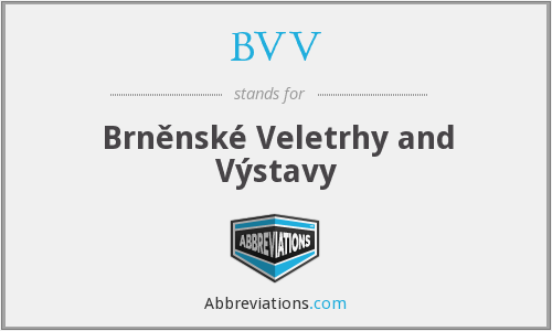 What does BVV stand for?