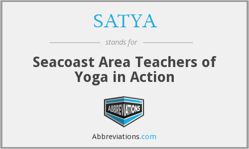 What does SATYA stand for?