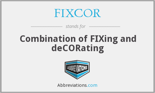 What does FIXCOR stand for?