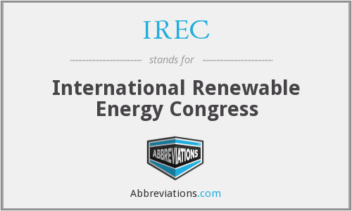 IREC - International Renewable Energy Congress