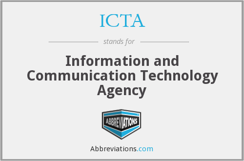 ICTA - Information and Communication Technology Agency