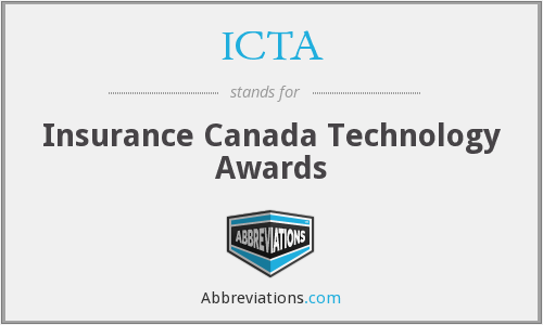 ICTA - Insurance Canada Technology Awards