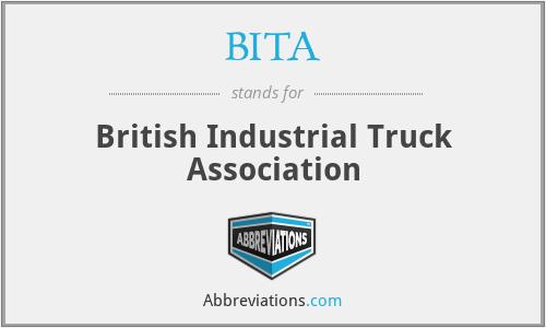 BITA - British Industrial Truck Association