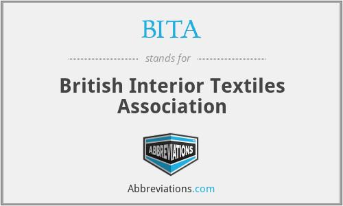 BITA - British Interior Textiles Association