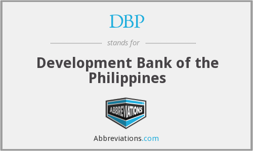 What does DBP stand for?