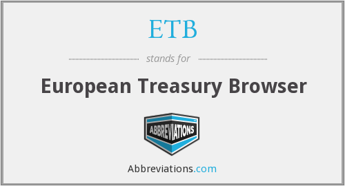 ETB - European Treasury Browser
