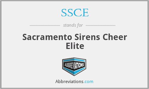 SSCE - Sacramento Sirens Cheer Elite