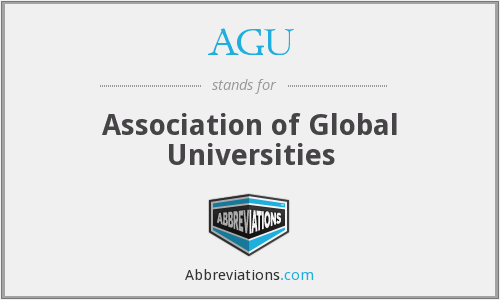 AGU - Association of Global Universities