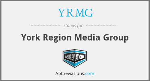 What does YRMG stand for?