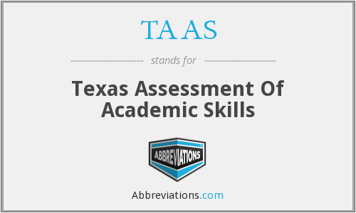 What does TAAS stand for?