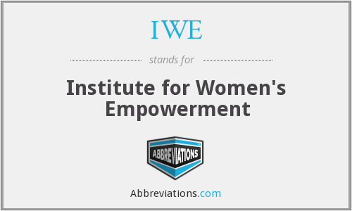 IWE - Institute for Women's Empowerment