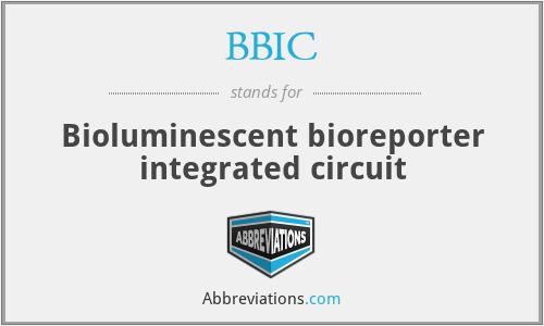 BBIC - Bioluminescent bioreporter integrated circuit