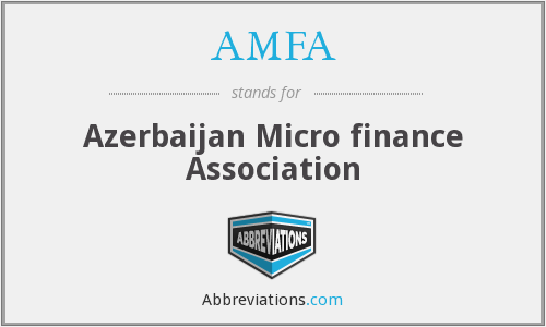 AMFA - Azerbaijan Micro finance Association