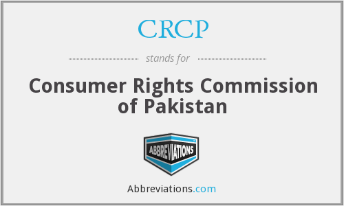 What does CRCP stand for?