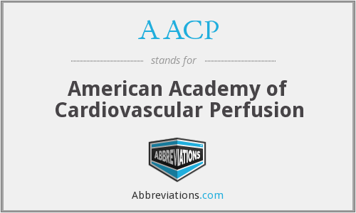 AACP - American Academy of Cardiovascular Perfusion