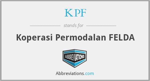 KPF - Koperasi Permodalan FELDA