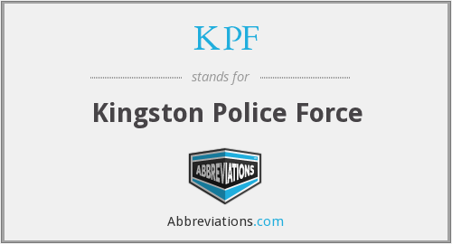 KPF - Kingston Police Force