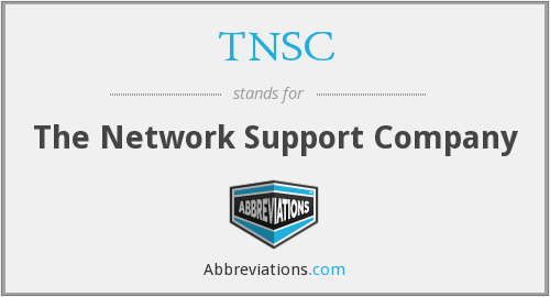 What does TNSC stand for?