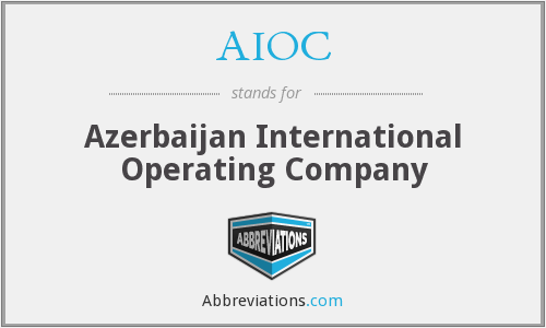 AIOC - Azerbaijan International Operating Company