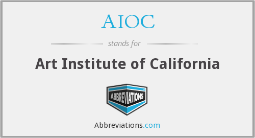 AIOC - Art Institute of California