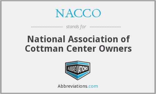 What does NACCO stand for?