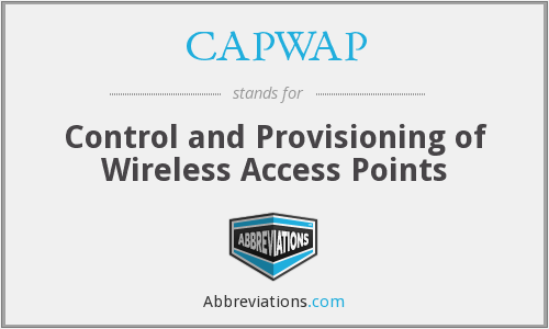 What does CAPWAP stand for?