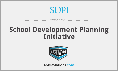 What does SDPI stand for?