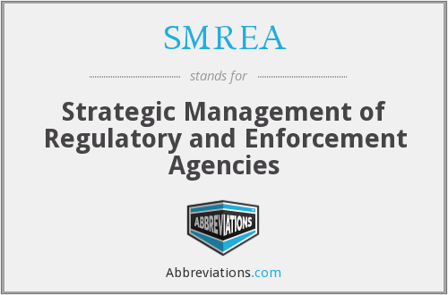 What does SMREA stand for?