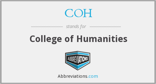 COH - College of Humanities