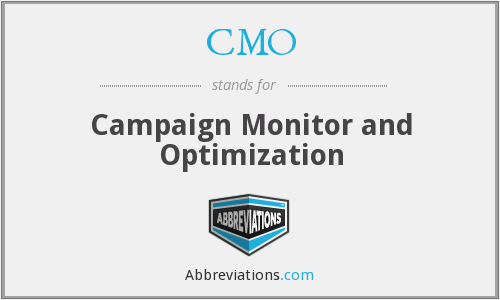 CMO - Campaign Monitor and Optimization
