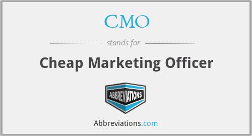 CMO - Cheap Marketing Officer