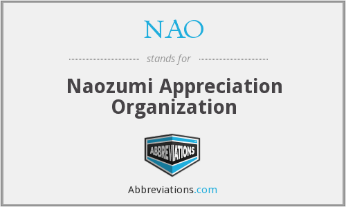 NAO - Naozumi Appreciation Organization