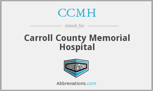 CCMH - Carroll County Memorial Hospital