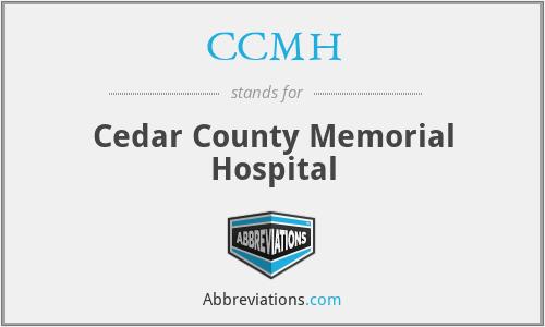 CCMH - Cedar County Memorial Hospital