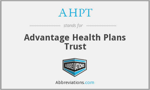 What does AHPT stand for?