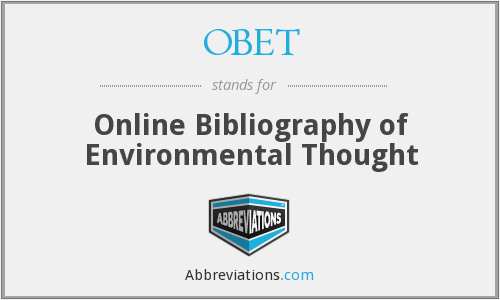 What does OBET stand for?
