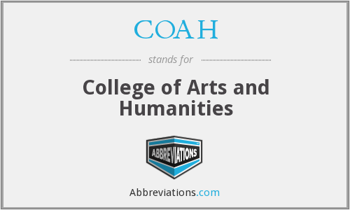 COAH - College of Arts and Humanities