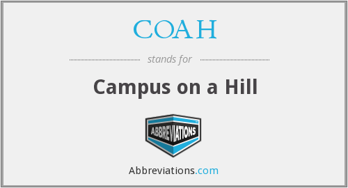 COAH - Campus on a Hill