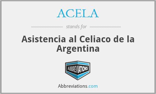 ACELA - Asistencia al Celiaco de la Argentina