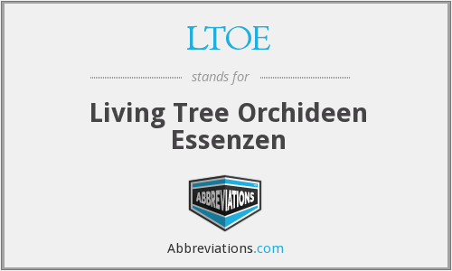 LTOE - Living Tree Orchideen Essenzen