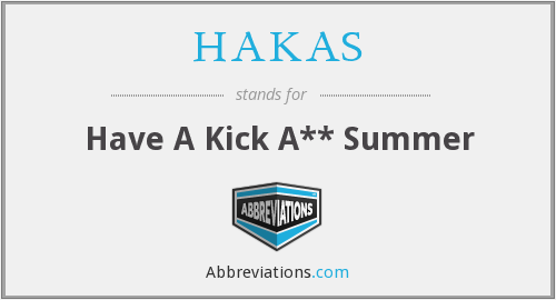 What does HAKAS stand for?