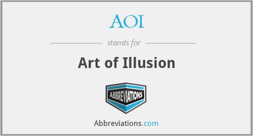 AOI - Art of Illusion