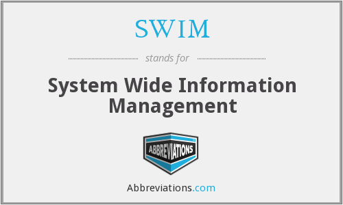 SWIM - System Wide Information Management